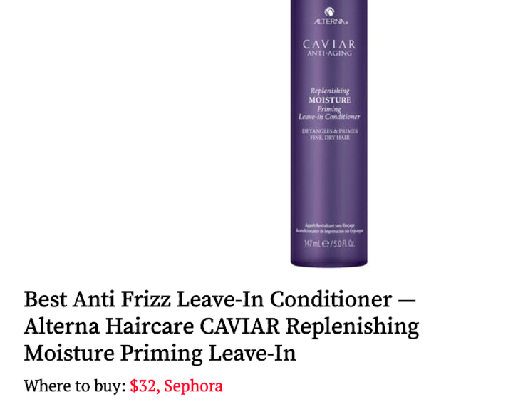 12 Anti Frizz Products For Smooth Hair All Year Long