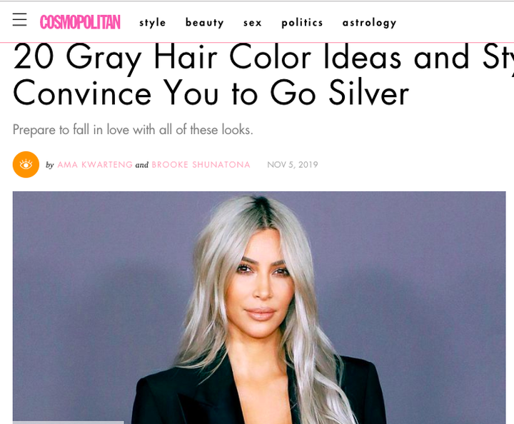 20 Gray Hair Color Ideas And Styles That'Ll Convince You To Go Silver