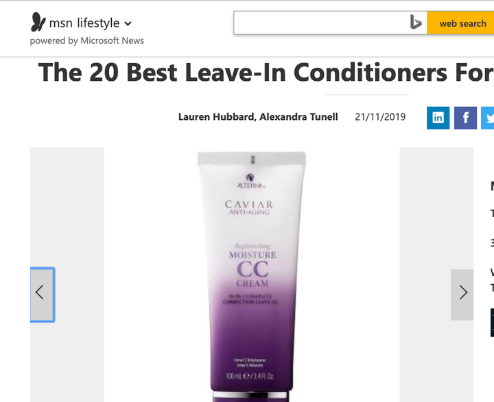 The 20 Best Leave In Conditioners For Every Hair Need
