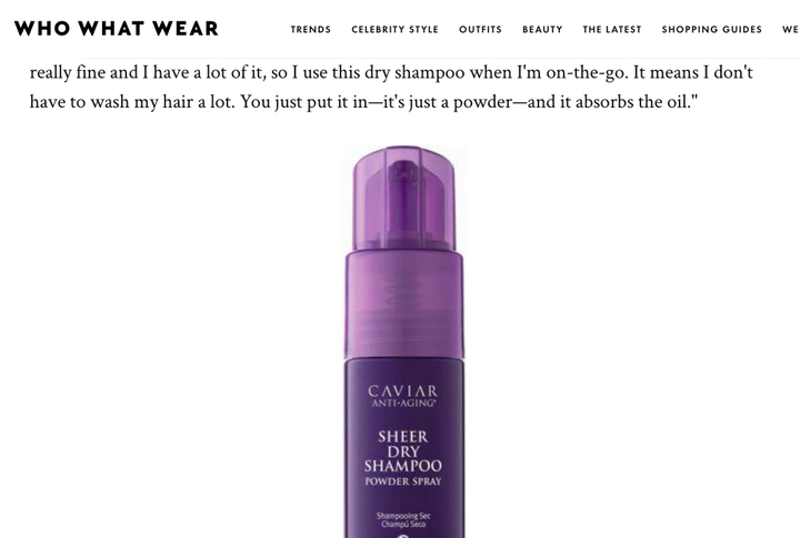 These 9 Products Are Why Em Ratas Hair Is So Damn Shiny