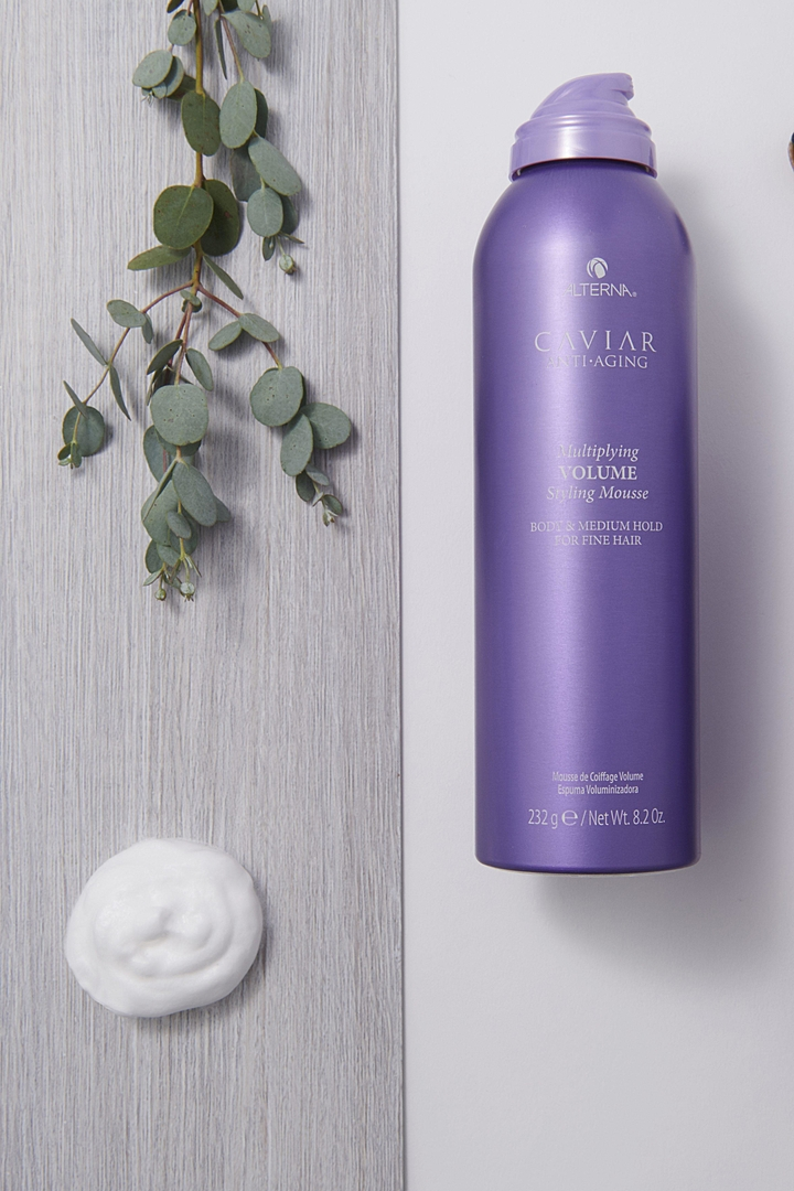 Volume Styling Mousse 2